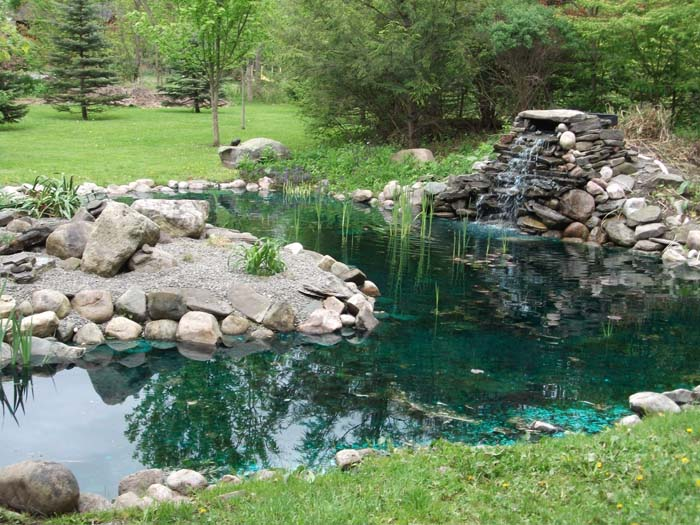 Top 28 rock garden pond rock garden pond waterfall for Rock ponds designs
